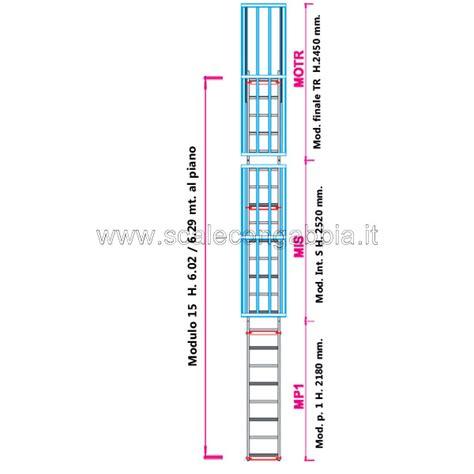 scale a gabbia scale con gabbia di protezione configurazione n 176 15