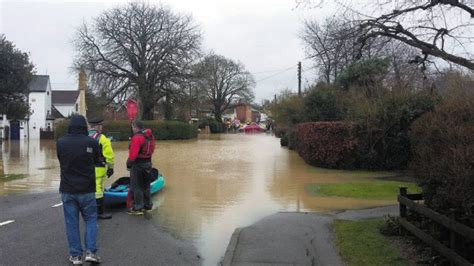 flood waters  rugby receding  river reaches record