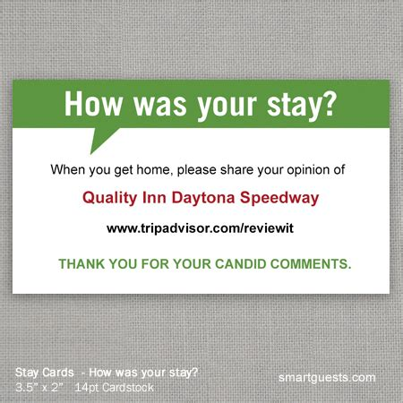 tripadvisor business card template stay cards customized hotel review cards