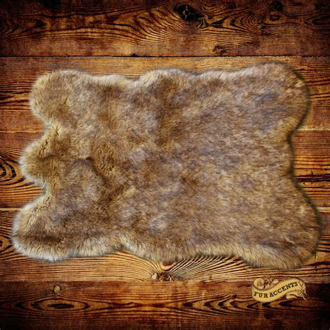 wolf skin rug with faux wolf skin accent rug coyote pelt area carpet sheepskin skin rug all sizes