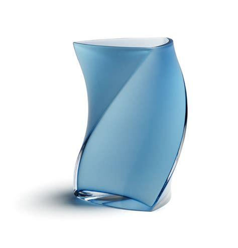 piet hein large vase 24 cm light blue turquoise