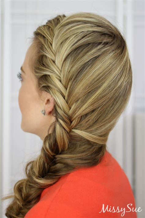 fishtail braid pictures fishtail french braid