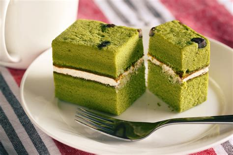 new year green tea cake green tea cake japanese bakery ben flickr