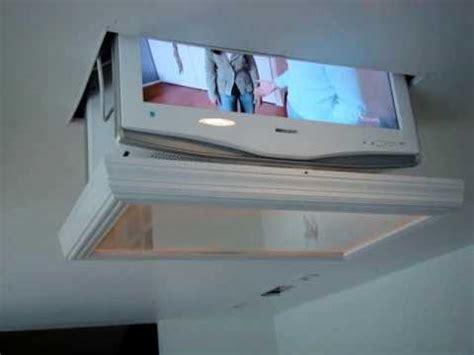 Retractable Ceiling Tv Mount by Custom Tv Mount