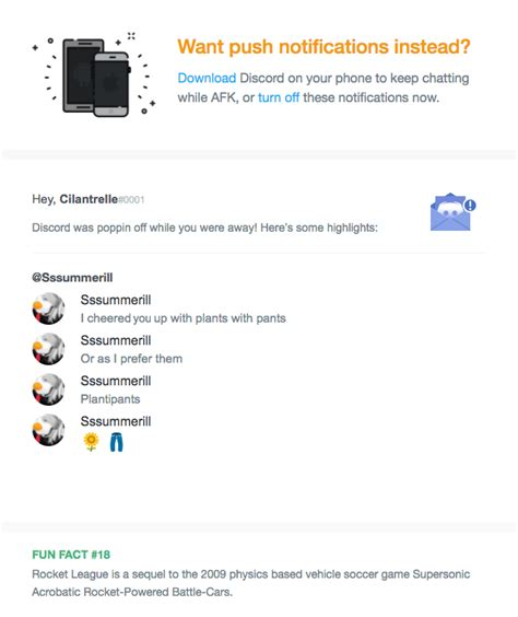 discord notifications not working how can i stop email notifications from discord discord