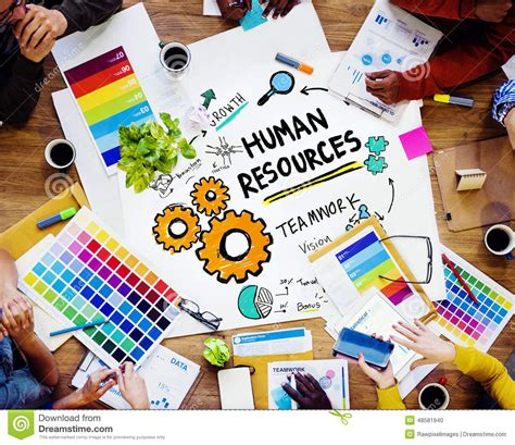 design resources human resources employment design team concept stock photo