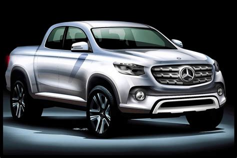 mercedes benz   developing luxury midsize pickup