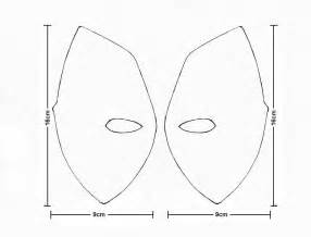 Deadpool Mask Template by Deadpool Template Gallery