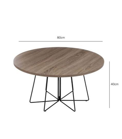 Table De Salon Ronde En Bois