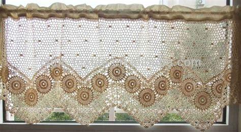 patrones cortinas crochet  cocina imagui crochet cortinas tejidas  crochet ganchillo