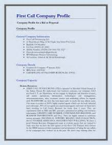 company profile template pdf doc 638479 construction company profile sle format