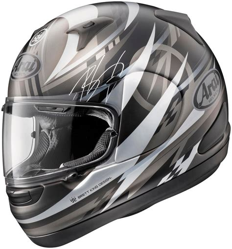 Helmet Arai Limited Arai Limited Edition Signet Q Brett King Design Finish