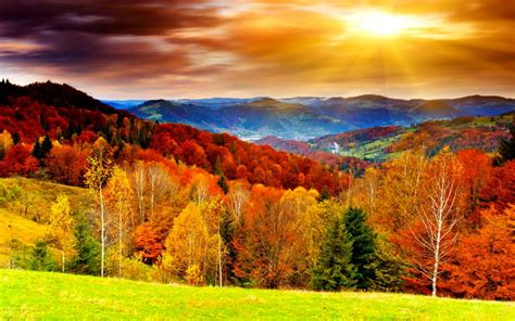 fall landscape wallpapers autumn scenery desktop wallpapers