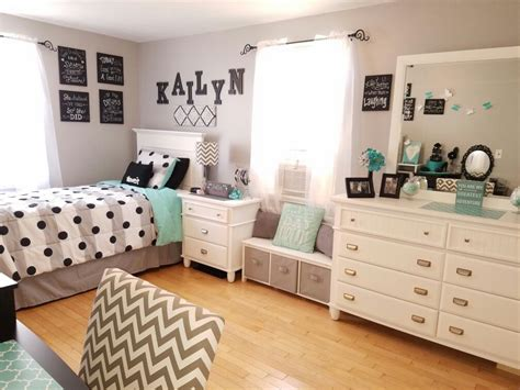 grey  teal teen bedroom ideas  girls kids room