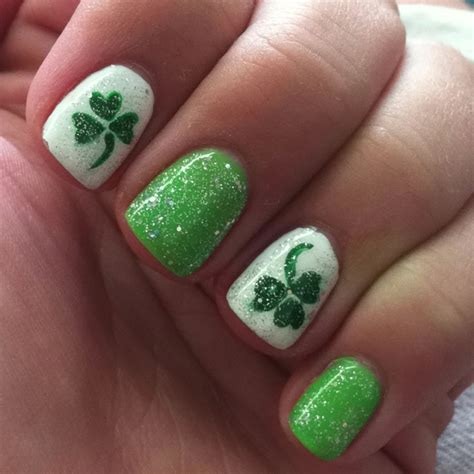 st pattern nails 127 best images about st patrick s day nail design on