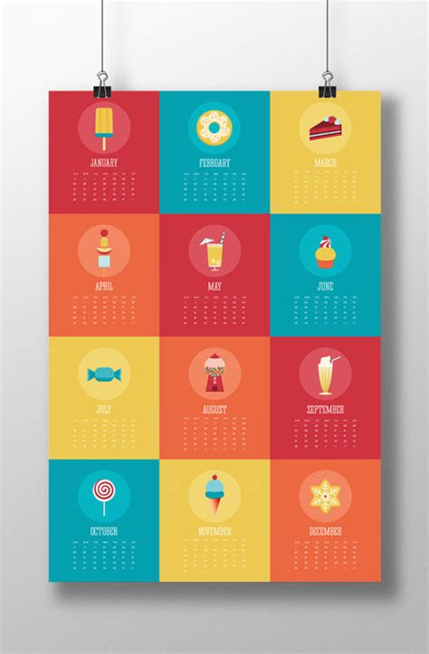 design calendar schedule 25 amazing calendar designs for 2014 creative bloq