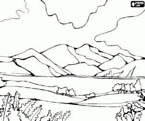 juegos de paisajes naturales para colorear imprimir y pintar juegos de paisajes naturales para colorear imprimir y