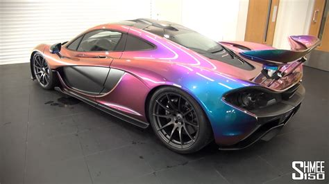 unique car colors mclaren p1 in unique mso pacific blue pearlescent paint