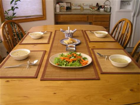Dining Table Runners And Placemats Bamboo Table Runners Placemats 4windsbamboo Boulder Co