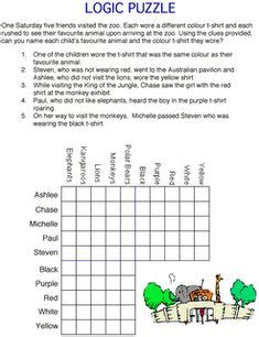 printable christmas logic puzzles for middle school 1000 images about logic puzzles on pinterest logic