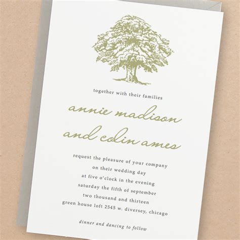 printable wedding invitations tree printable wedding invitation template instant download