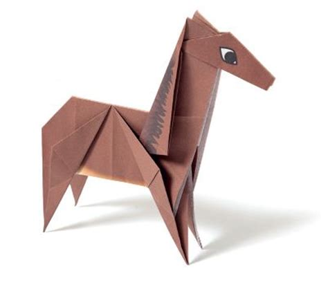 Origami Horses - get crafty this new year and make an origami