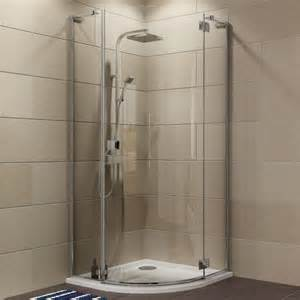 clear glass shower enclosure diy