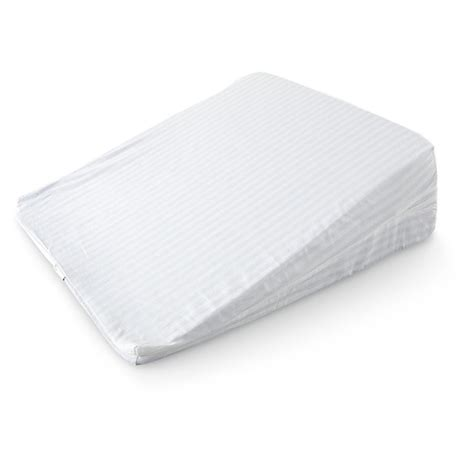 foam bed wedge isotonic 174 theragel memory foam bed wedge 593356 healthy living at sportsman s guide