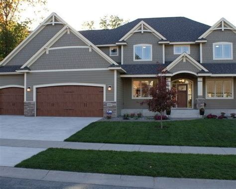 hardie siding quot timberbark quot with quot navajo beige quot trim new house color