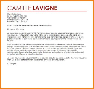 Lettre De Motivation Ecole Hotellerie lettre de motivation en anglais hotellerie candidature