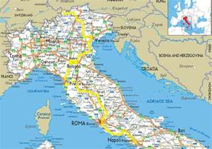 Detailed Map Of Italy by Gallery For Gt Detailed Map Of Italy With Cities