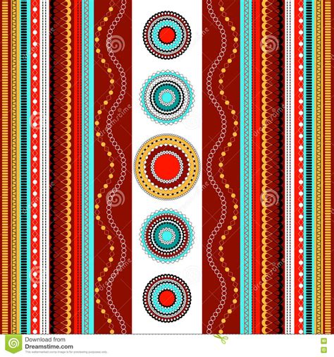 colorful ethnic wallpaper ethnic boho seamless pattern colorful border background