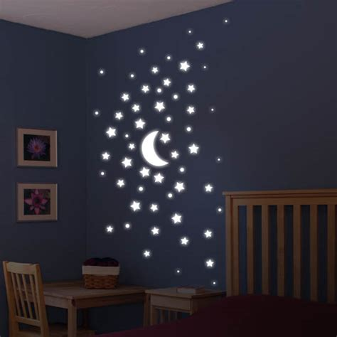 space bedroom stickers space theme wall art poptalk