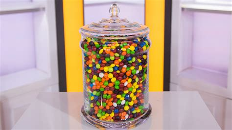 Skittles Jar sum up the skittles contest official today