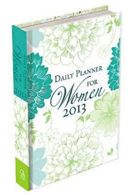 daily planner 2014 christian art publishers turquoise daily planner for women by christian art