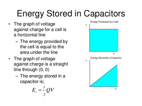 is capacitor stored energy capacitors