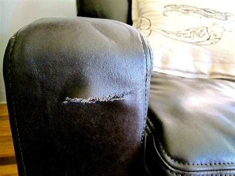 how to fix a tear in leather sofa smart and effective everyday uses for your heat gun