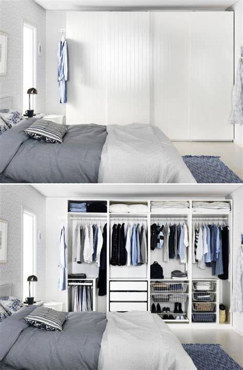behind bedroom door ten hidden closet concepts for tiny bedrooms decorazilla