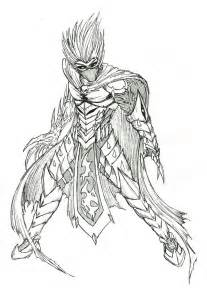 demon knight sketch 2 by phantom62 on deviantart