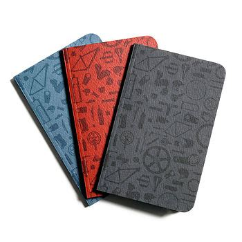 repeating pattern notebook notō pocket journal repeat pattern by anthony oram