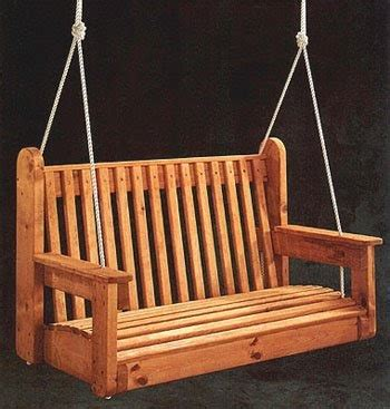 wood swing plans porch swing free woodworking project plans