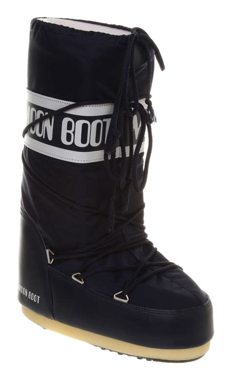 moon boots womens womens moon boot orig moonboot navy boots ebay
