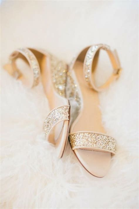 sparkly wedding shoes flats gold flat bridal sandals gold sandals heels