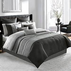 manor hill 174 lowery comforter set in medium grey bed bath