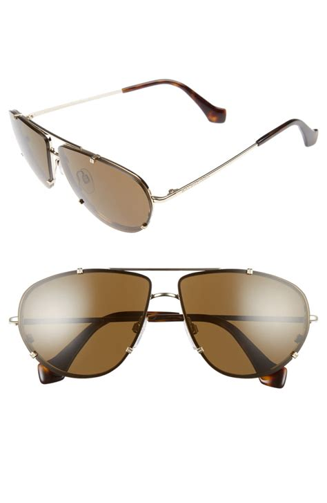 balenciaga 62mm aviator sunglasses nordstrom