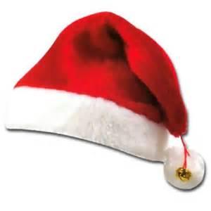 santa hats red white fur hat christmas xmas santa hat