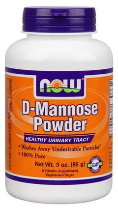 P O Powder M B K now foods d mannose powder tfsupplements
