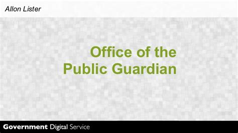 office of the guardian