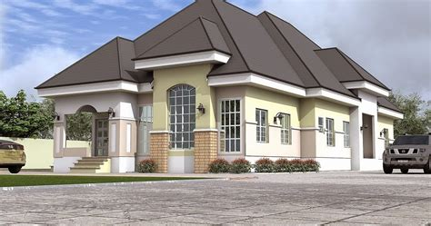 Architectural Designs By Blacklakehouse 5 Bedroom Architectural Design For 3 Bedroom Bungalow