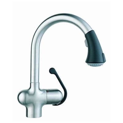 shop grohe ladylux stainless steel 1 handle pull down deck grohe ladylux cafe single handle pull out sprayer kitchen